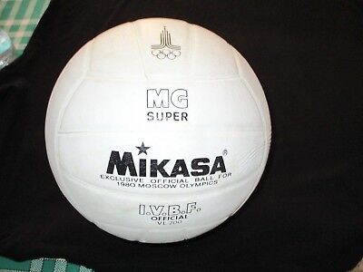 Ballon Ball Mikasa Exclusive 1980 Moscow Moscou Olympic Games J.o Jo Volley Ball