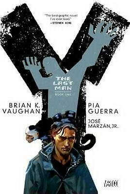 Y by Brian K. Vaughan (English) Paperback Book Free Shipping!