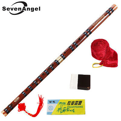 Flute Bamboo Professional Bansuri Indian Transverse G Fipple Scale Quality Dizi