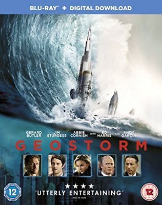 Geostorm BLU-RAY NEW