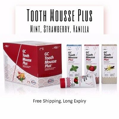 GC Tooth Mousse Plus - Clearance Special, 2020 Expiry