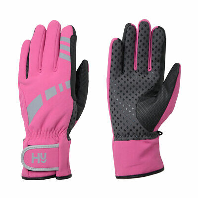 Hy5 Reflective Waterproof Multipurpose Riding Yard Mucking Out Gloves