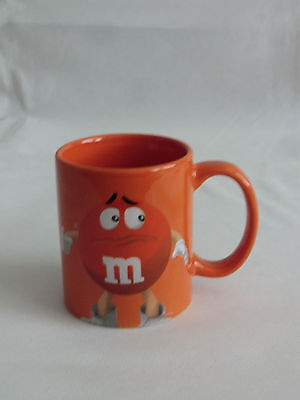 M&M M&M 's Sammlertasse Tasse Becher Kaffeebecher in  ORANGE orange NEU