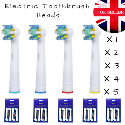 Electric Toothbrush Heads Replacement Brush Oral Action B Compatible