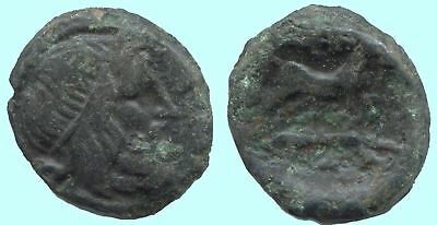 HARE Ancient Authentic GREEK Coin 5,5 gr/17 mm @ANT1425.32DS