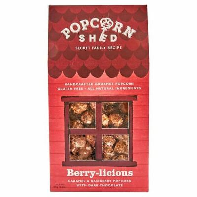 4x Popcorn Shed Berry-licious Gourmet Popcorn 80g