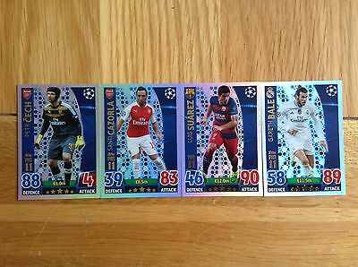 Topps Champions League 15/16 Various Pro11 cards