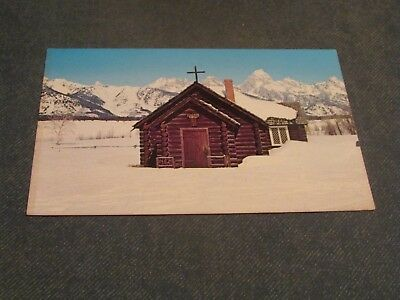 Postcard-Chapel of The Transfiguration, Moose, Wyoming-Unposted