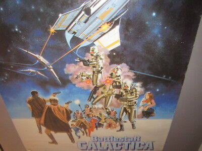 Battlestar Galactica 1978 Galactic Collage Wall Poster By Pro Arts Cylon