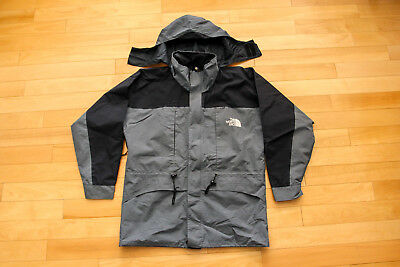 North Face Gore Tex Jacket Gray Black Size M