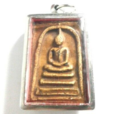 Pendant Necklace Phra Somdej Dungeon Kru Magic Holy Great Kindness Safe All B30