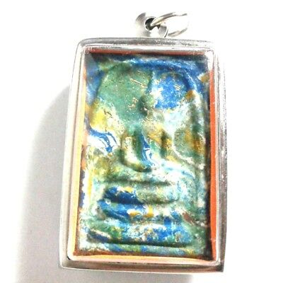 Pendant Necklace Phra Somdej Dungeon Kru Magic Holy Great Kindness Safe All B33