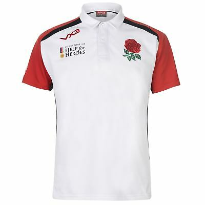 5075fcdca41 Official VX3 Help for Heroes England Rugby Men's Jersey/ Polo Shirt 2018/19