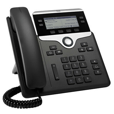 Cisco 7800 Series CP-7841-K9 IP Phone out the box VOiP POE TCP/IP Wall Mount