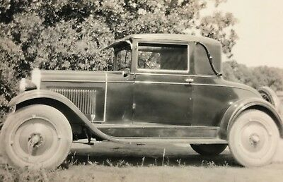 Vintage Photo Roadster Coupe Car Ford???