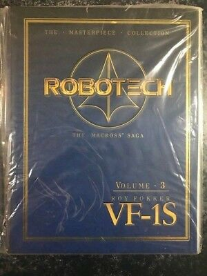 ROBOTECH MASTERPIECE COLLECTION VF-1S  Vol 3 ROY FOKKER