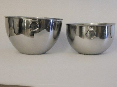 Revere Ware  Mixing Bowls Set of Two