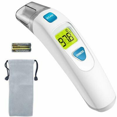 FDA Approved-Ear & Forehead Baby Thermometer Medical Digital Clinical Infrared