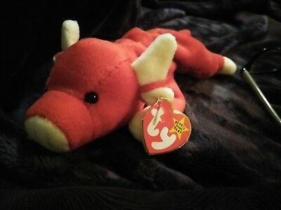 "The Beanie Babies Collection ""Snort"" Style # 4002 (P.V.C. Pellets)"