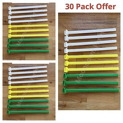 30 x 22cm PLASTIC TWIST ON CAGE PERCH /PERCHES Finches,Canary,Budgie Aviary Bird