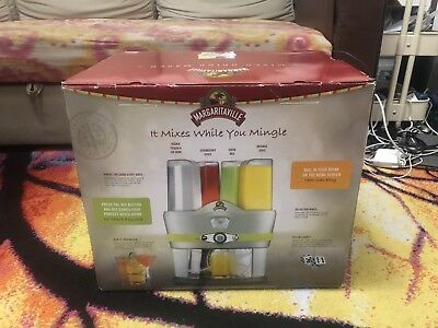 Margaritaville Mixed Drink Maker / Automatic Cocktail Machine NEW