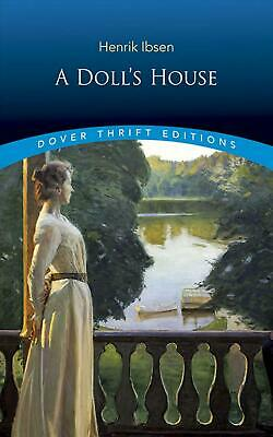 A Doll's House by Henrik Johan Ibsen (English) Paperback Book Free Shipping!