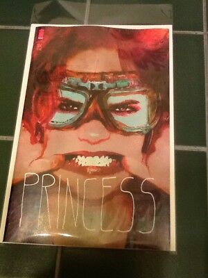 """The Walking Dead Issue #184 Variant Cover """"Princess"""" Image Comics Sienkiewicz"""