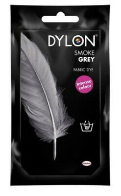 Dylon Fabric Dye Hand Use 50g Pack Clothes - Smoke Grey