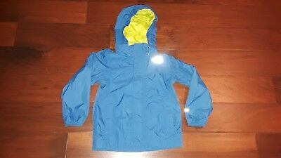 The North Face Resolve Reflective Hooded Blue Jacket Youth XXS (5) - Nice !!!