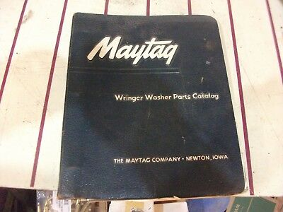 Vintage Maytag Wringer Washer parts catalog