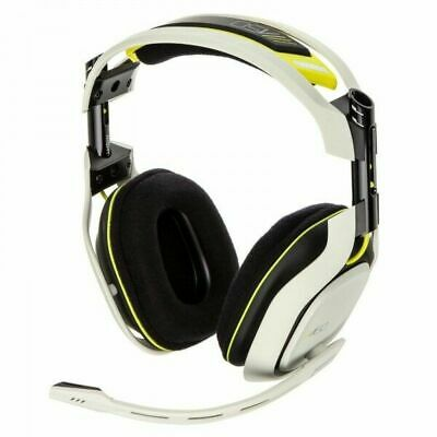 Original Astro A-50 Gaming Headset for Xbox One w/One Way Mic White / Yellow