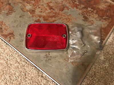 GENUINE FORD C7TZ-13380-D Amber Reflector 67 68 69 Truck F Series FREE SHIPPING
