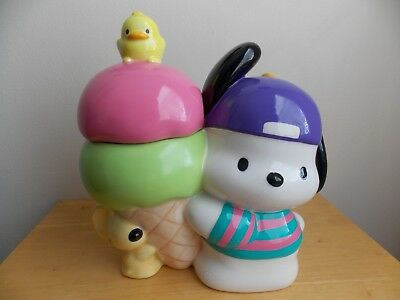 1997 Sanrio Pochacco Cookie Jar