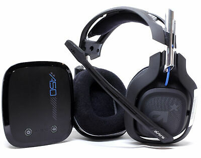 Used Original Astro A-50 2Gen Wireless Gaming Headset + Base Station Black/Blue