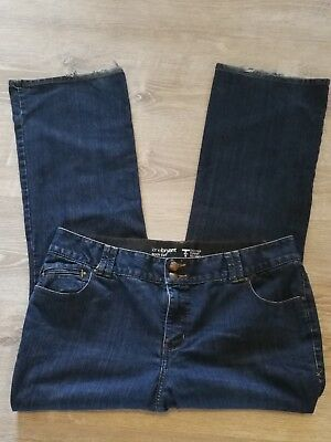 Lane Bryant Boot Cut Jeans Size 20 Average Dark Wash T3 Tighter Tummy Tech