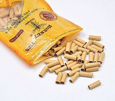 Hornet 6mm Slim Natural Gum Pre-Rolled Filter Tips Cigarette Brown 120 Filters