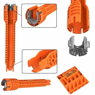 Faucet & Sink Installer Multitool Water Pipe Wrench for Plumbers and Homeowners