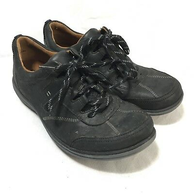 Cobb Hill New Balance RevLite Womens 8 Wide Black Leather Comfort Oxford  Shoes a4fafccd5