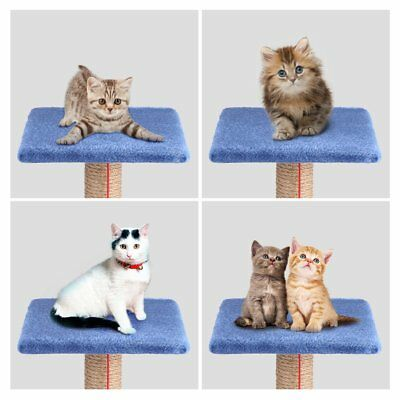 Multi-color Cat Tree Tower Condo Furniture Scratching Post Pet Kitty Play House