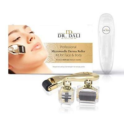 Premium Derma Microneedle Face Roller Kit ~ Reduce Stretch Marks, Acne, Wrinkles