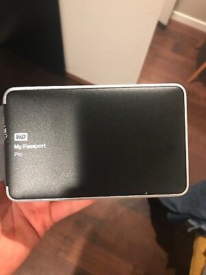 Western Digital My Passport Pro 4TB Thunderbolt Portable RAID Portable Storage