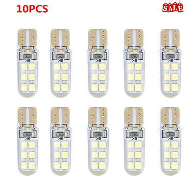 10X T10 2835 LED Canbus Super Bright Car Width Lights Lamps Bulbs White WM