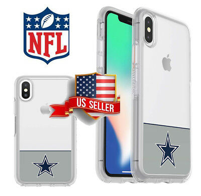 designer fashion bbf97 51faf OTTERBOX NFL SYMMETRY Series Cell Phone CASE for Apple iPhone Xs X 8 7 Plus