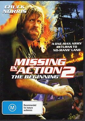 Missing In Action 2 - The Beginning - Chuck Norris New All Region Dvd