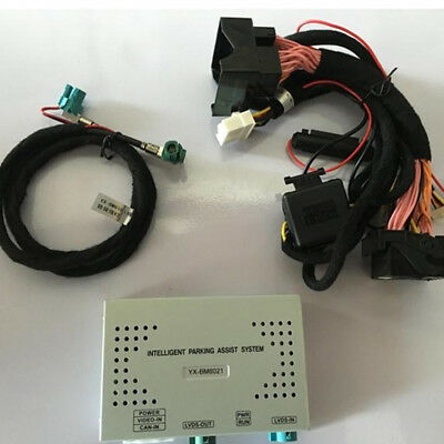 Car Media Solution Reverse Camera Trajectory Video Interface For BMW NBT System