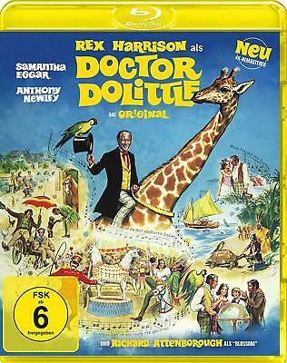 Doctor Dolittle - Das Original von 1967 [Blu-ray/NEU/OVP] Rex Harrison, Richard