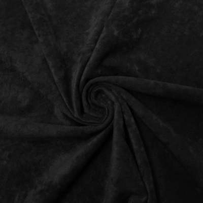 BLACK Alcantara Style Faux Suede Suedette Upholstery Fabric 225 Grams 150cm Wide
