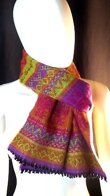 Women or Men Unisex Metric Print and Multi Color Scarf Fashion