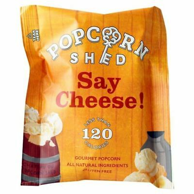6x Popcorn Shed Say Cheese Gourmet Popcorn Snack Pack 16g