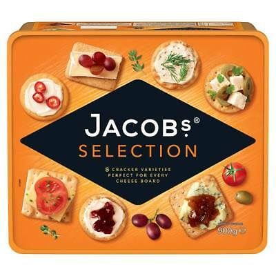 Jacobs Selection 8 Cracker Varieties 900g